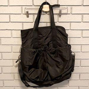 Black Lululemon Gym or Diaper Bag